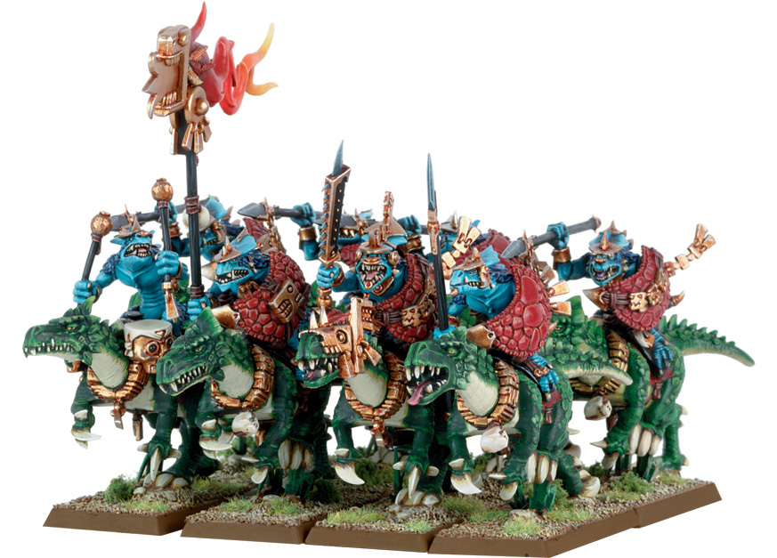 Cold One Cavalry, Part 1 : Lacklustria: Forging the Lizardmen
